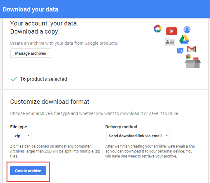Google Takeout Reader to Read Gmail Mailbox Messages | Mailbox Reader