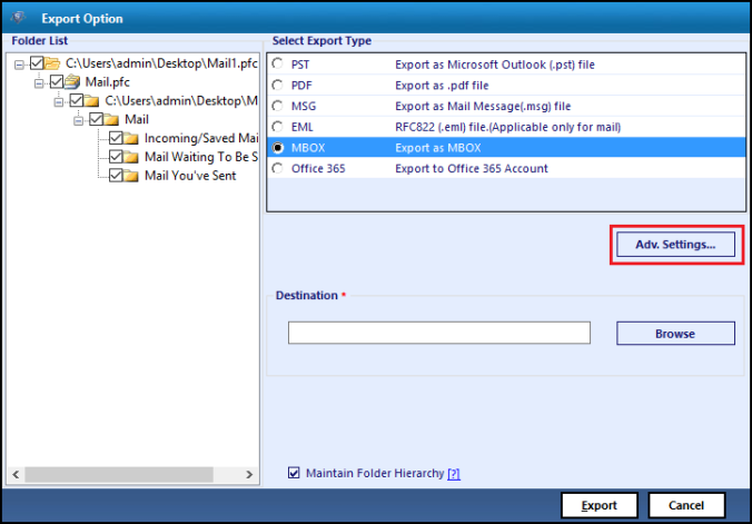 Export AOL Email to Thunderbird Email Application | Mailbox Reader