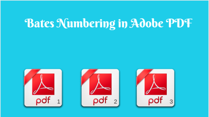 Bates Stamping in Adobe PDF With or Without Adobe Document